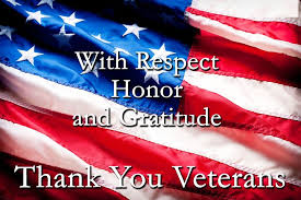 Honoring our Veterans!